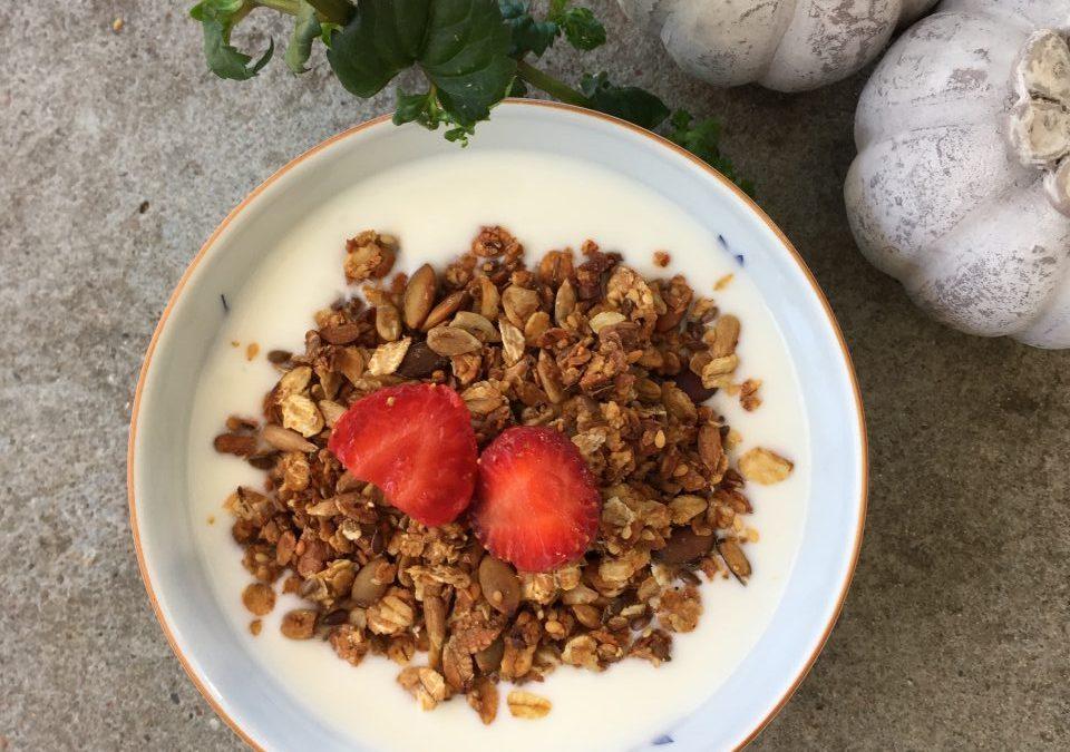 Recept på godaste granolan