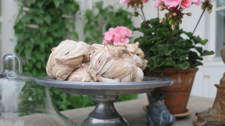 Recept på härliga chokladmaränger