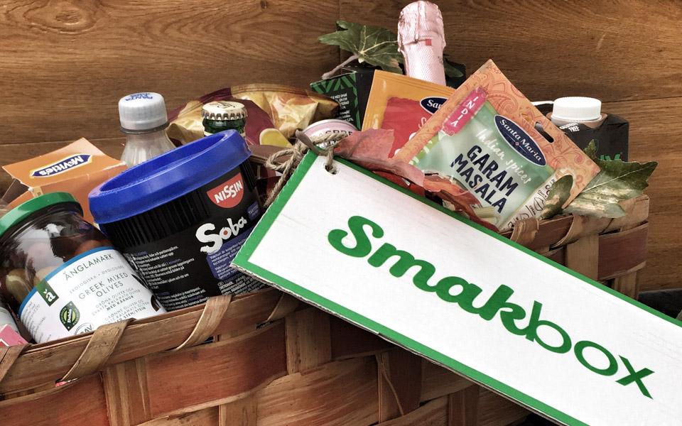 Rabattkod och tävling i samarbete med Smakbox