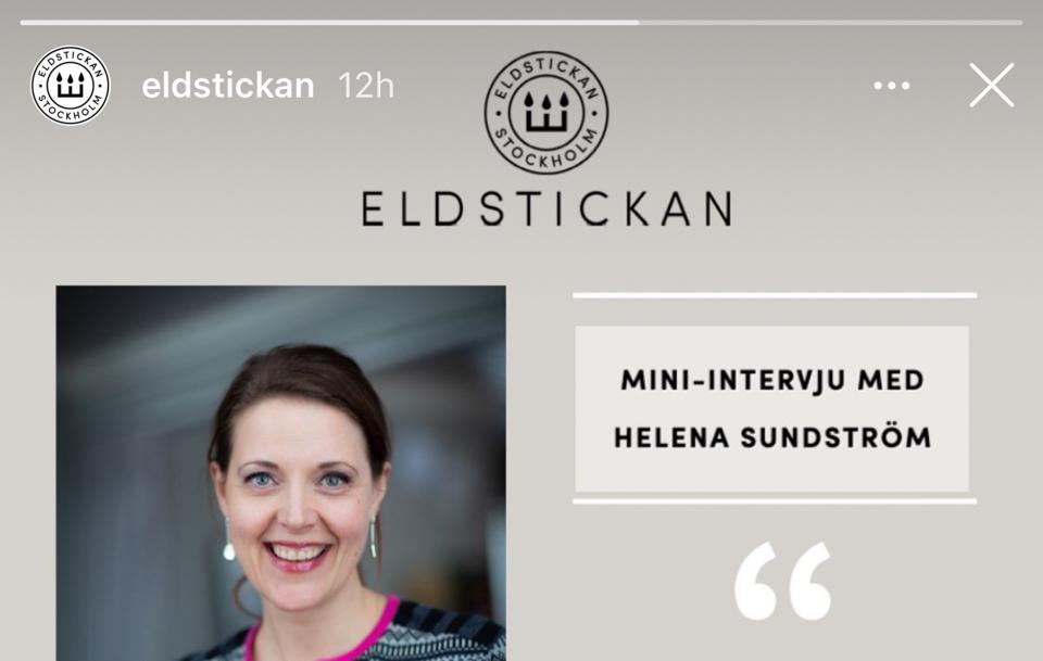 Intervju hos Eldstickan